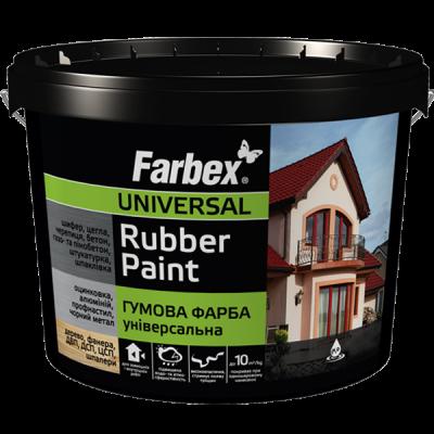 Гумові фарби Farbex